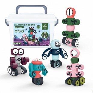 خرید اسباب بازی ربات مگنتی