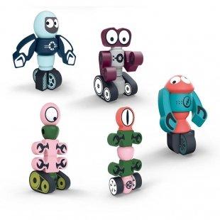 اسباب بازی مگنتی مدل ربات 35 تکه