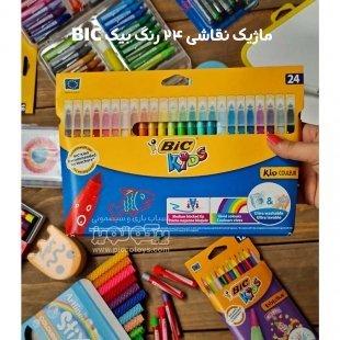 ماژیک نقاشی 24 رنگ بیک BIC کد 3350