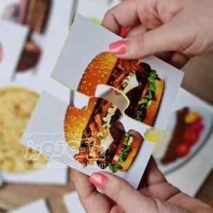 خرید کارت پازلی آموزش میوه ها