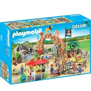 باغ وحش پلی موبيل مدل playmobil large city zoo 6634