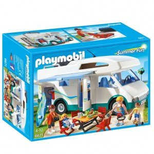 ماشین مسافرتی پلی موبيل مدل playmobil Summer Camper 6671