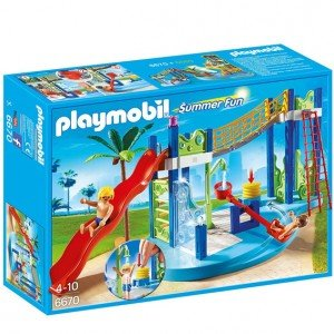ساختني پلي موبيل مدل Water Park Play Area 6670