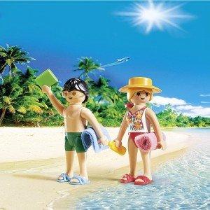 آدمک پلی موبيل مدل Playmobil City Life Beachgoers Duo Pack 5165