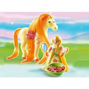 PLAYMOBIL Princess Sunny with horse مدل 6168