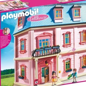 خانه رویایی پلی موبیل مدل Playmobil Deluxe Doll House 5303