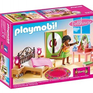 اتاق خواب پلی موبيل مدل Master Bedroom Doll House 5309
