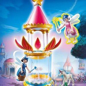 قیمت قصر پلی موبیل مدل PLAYMOBIL Musical Flower Tower with Twinkle 6688