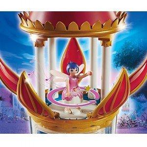 قصر موزیکال  پلی موبیل مدل PLAYMOBIL Musical Flower Tower with Twinkle 6688