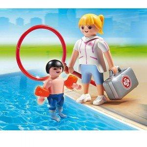پزشک ورزشی پلی موبيل مدل pool supervisor 6677