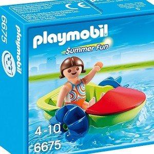 قایق پلی موبيل مدل Children's Paddle Boat 6675