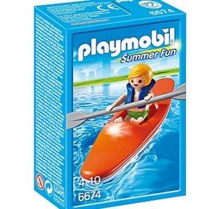 قایق پلی موبيل مدل Kid with Kayak Playset 6674