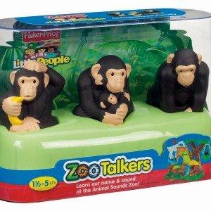 خانواده سه نفره شامپانزه ها fisher price كد 9991
