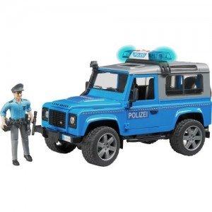 اسباب بازی ماشین لندروور استیشن پلیس bruder  مدل 025977