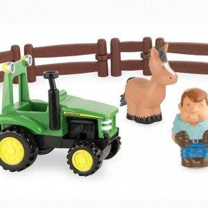 تراكتور و آدمك مزرعه john deere كد 43067