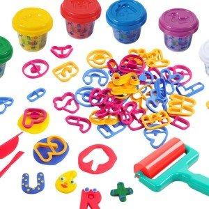 ست قالب و خمیربازی کودک playgo کد 8780