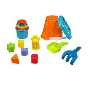 ابزار شن بازی طرح ساحل playgo مدل 5380