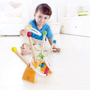 بازی و تفریح با اسباب بازی پرتاب حلقه  hape 4301