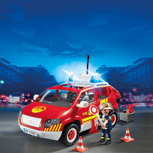 Fire Chief´s Car with Lights and Sound pm 5364