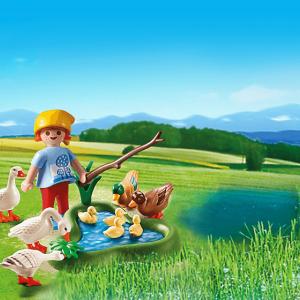 ساختني پلي موبيل مدل country farm ducks and geese pm 6141