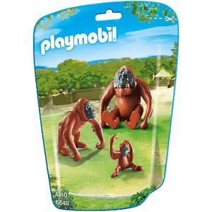 خانواده اورانگوتان پلی موبيل مدل orangutan family pm 6648
