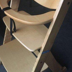 جزییات صندلی غذای چوبی کودک piccolo
