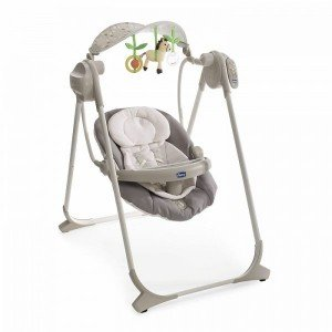 تاب برقی chicco مدلPOLLY SWING UP GREY كد CH79110-47