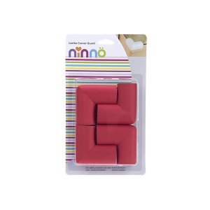 بسته بندی محافظ گوشه جامبو قرمز بزرگ (4 عددی)