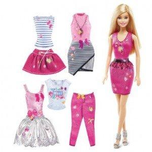 عروسک باربی لباس