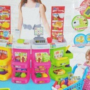 سوپر مارکت با سبد خرید