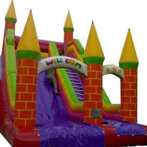 سرسره بادی 5 قلعه شهربازی مدل 012
