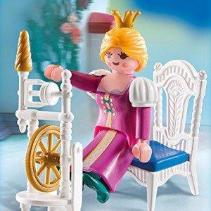 ساختنی پلی موبيل مدل Princess with Weaving Wheel 4790