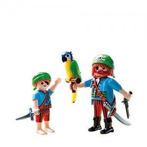 دزد دریایی پلی موبيل مدل Pirate Mates Duo Pack Building Kit 5164