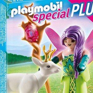 پری پلی موبيل مدل Fairy with Deer Playset 5370