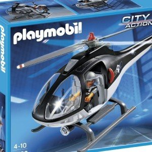 هلی کوپتر پلیس پلی موبيل مدل Tactical Unit Helicopter 5563