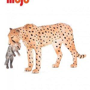 فیگور چیتا ماده با بچه mojo کد 387167
