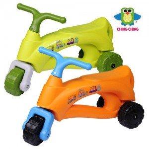 موتور پایی کودکching ching كد ca-22 دو رنگ نارنجی و سبز
