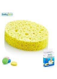 اسفنج حمام baby jem کد 020 رنگ زرد