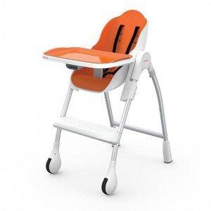 صندلی غذا oribel رنگ نارنجی