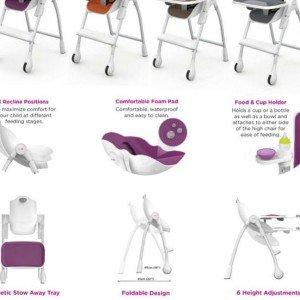 صندلی غذا oribel