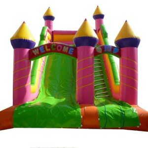 سرسره پنج قلعه بادی  طرح بستنی کد 013