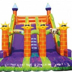 سرسره بادی  شش قلعه با دو سرسره  مدل 014