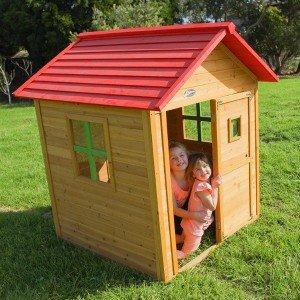 کلبه جنگلی چوبی کودک