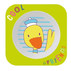 ظرف غذا سبز طرح اردک rotho کد 306330205
