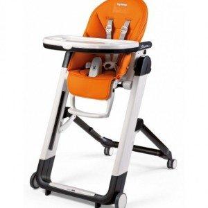 صندلی غذا peg perego مدل  siesta arancio