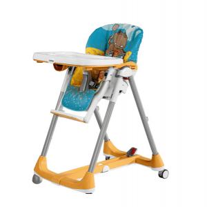 صندلی غذا peg perego مدل  Prima Papa Diner High Chair hippo giallo