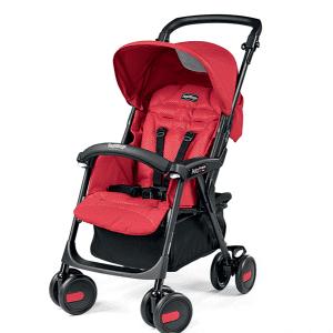 کالسکه peg perego مدل aria shopper رنگ mod red