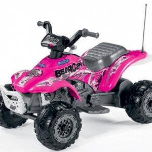 موتور چهار چرخ peg perego مدل IGED1166 Corral Bearcat Pink