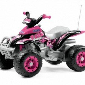 موتور شارژی peg perego مدل IGOR0073 Corral T-Rex Pink