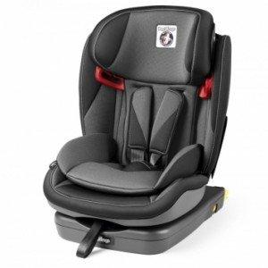 صندلی ماشین peg perego مدل Viaggio 1⋅2⋅3 Via رنگ crystal black